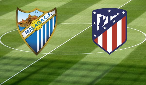 Malaga - Atletico Madrid am 10.02.