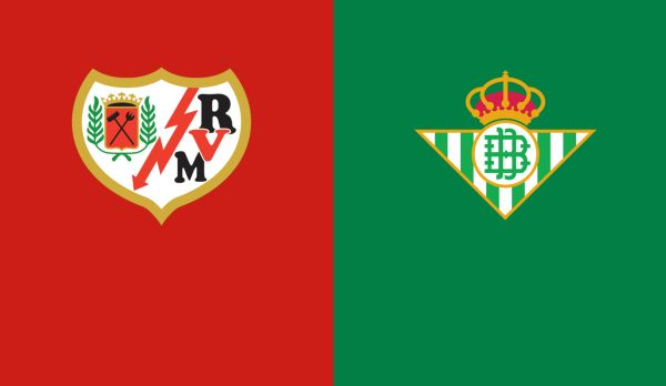 Rayo Vallecano - Real Betis am 31.03.