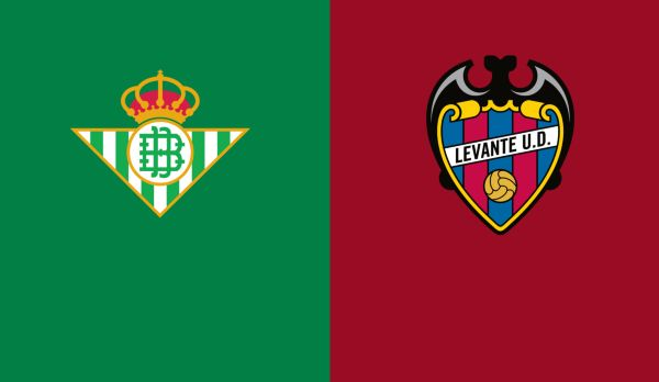 Real Betis - Levante am 17.08.
