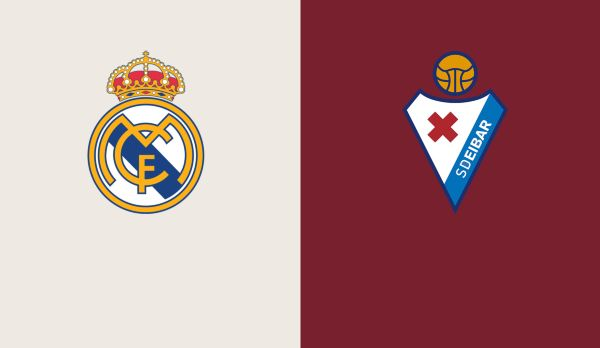 Real Madrid - Eibar am 14.06.