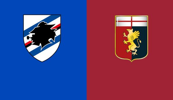 Sampdoria - CFC Genua am 07.04.