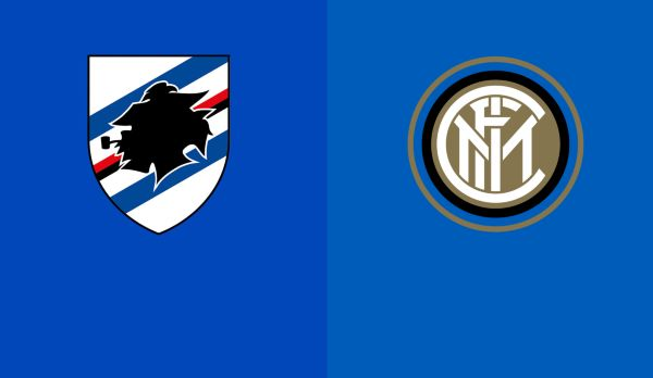 Sampdoria - Inter Mailand am 28.09.