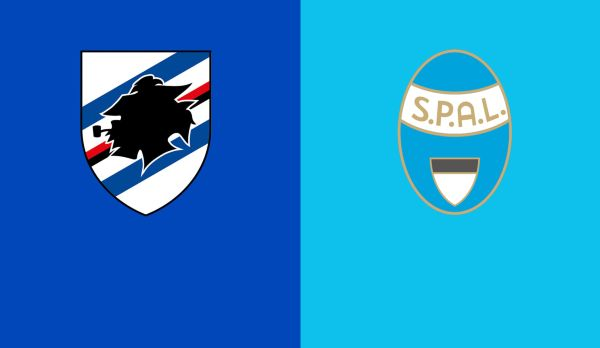 Sampdoria - SPAL am 01.10.