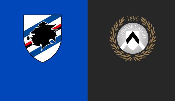 Sampdoria - Udinese am 26.01.