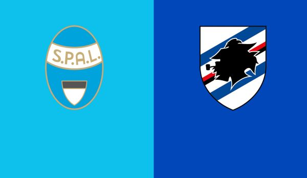 SPAL - Sampdoria am 04.11.