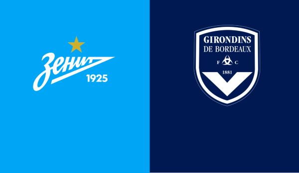 Zenit - Bordeaux am 25.10.