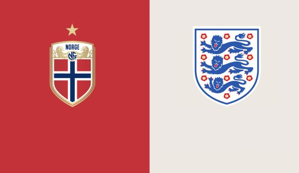 Norwegen - England am 27.06.