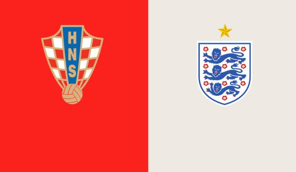 Kroatien - England (Highlights) am 11.07.