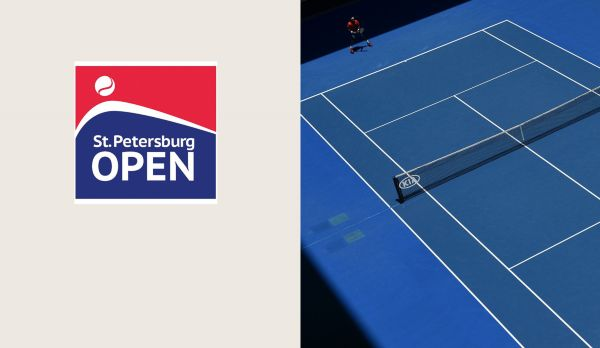 ATP St. Petersburg: Finale am 23.09.