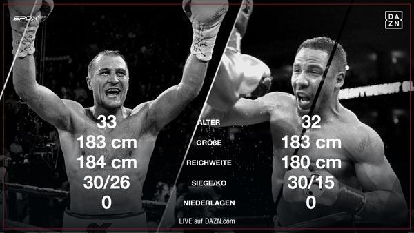 Heute Boxkampf