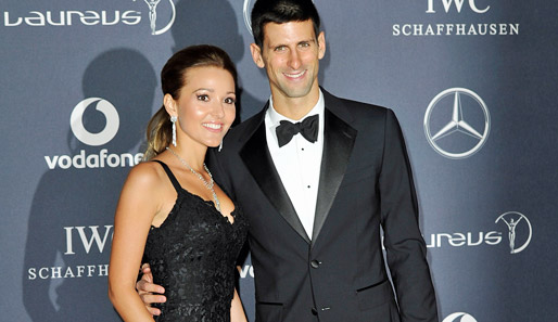 "Novak Djokovic wurde zum Laureus ""World Sportsman Of The Year"" gewählt"