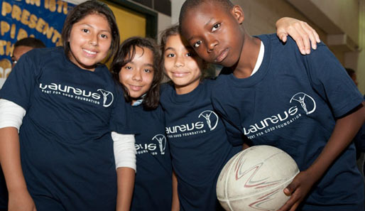 Laureus-Projektbesuch in New York