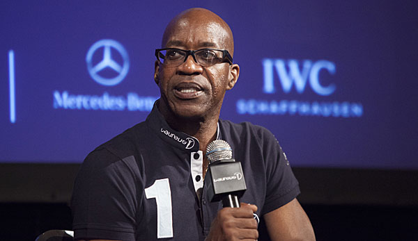 Edwin Moses war beim Laureus Sport for Good Summit vor Ort