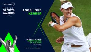 Wimbledon-Siegerin Angelique Kerber wurde für den Laureus Sportswoman of the Year Award nominiert.