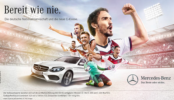 Video Keren Timnas Jerman Bersama Mercedes - Berita