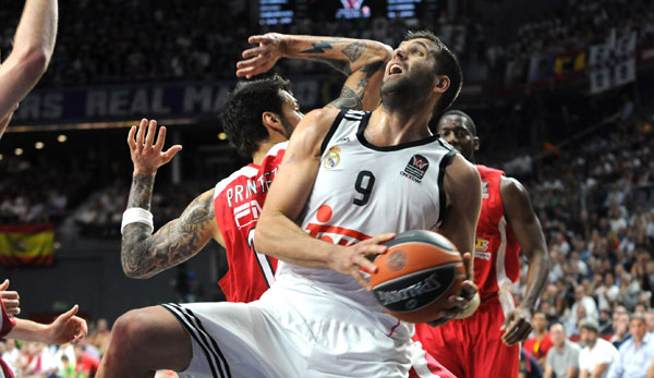 Felipe Reyes gewann mit Real Madrid den Titel in der Turkish Airlines Euroleague