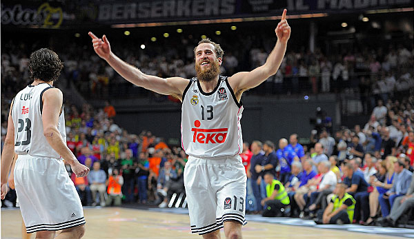 Sergio Rodriguez fühlt sich in Madrid pudelwohl