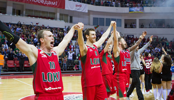 Jubel in Krasnodar: Lokomotiv Kuban steht im Final Four!