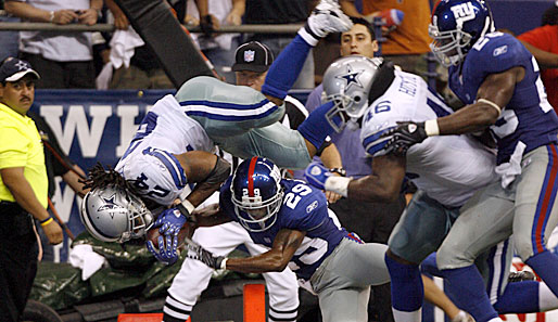 Dallas Cowboys vs. New York Giants 45:35