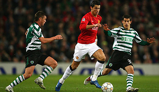 Manchester United - Sporting Lissabon 2:1
