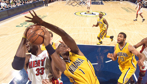 Indiana Pacers - Miami Heat 87:85