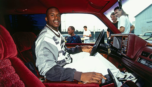 Shaq, der Auto-Freak