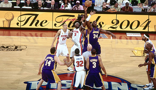 Finals 2004: Pistons vs. Lakers