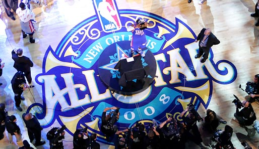 Das All-Star-Game 2008 fand in New Orleans statt