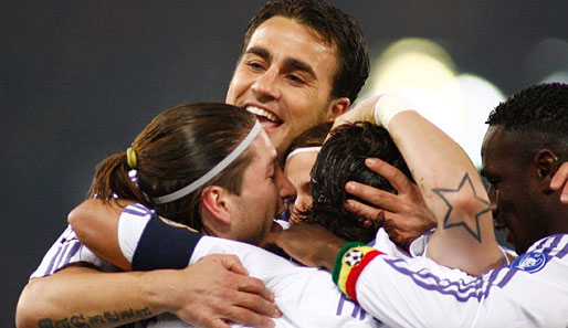 AS Rom, Real Madrid