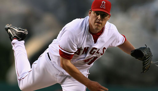 Bester Starting Pitcher der Angels: John Lackey