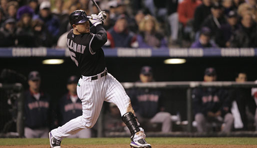 Schaffen es Matt Holliday und die Colorado Rockies erneut in die World Series?