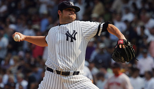 Ein Superstar-in-the-making: Pitcher Joba Chamberlain