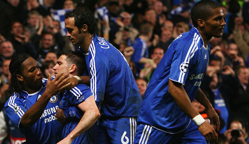 Fußball, Champions League, chelsea, liverpool, london, reds, blues, stamford bridge, halbfinale, terry