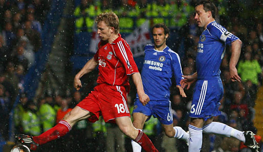 Fußball, Champions League, chelsea, liverpool, london, reds, blues, stamford bridge, halbfinale, terry, kuyt, carvalho