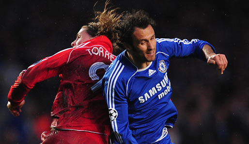 Fußball, Champions League, chelsea, liverpool, london, reds, stamford bridge, halbfinale, torres, carvalho