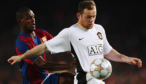 champions league, barcelona, manchester, united, barca, halbfinale, camp nou, red devils, rooney, abidal