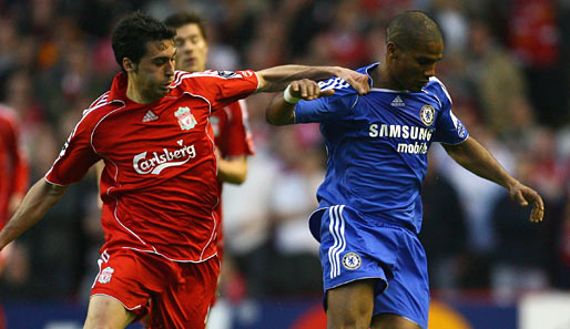 Champions League, halbfinale, Chelsea, Liverpool, london, reds, blues, anfield road, malouda