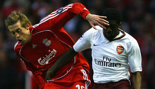 Champions League, arsenal, london, liverpool, reds, viertelfinale, crouch, eboue