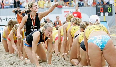 beachvolleyball, sara goller, laura ludwig