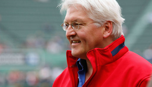Frank-Walter Steinmeier, Außenminister, Pitcher, Boston Red Sox, Fenway Park