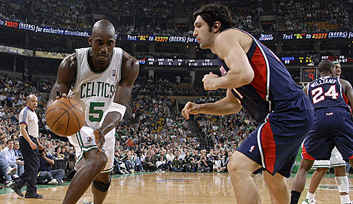 Spiel 1: Boston Celtics - Atlanta Hawks 104:81 (Playoff-Stand: 1-0)