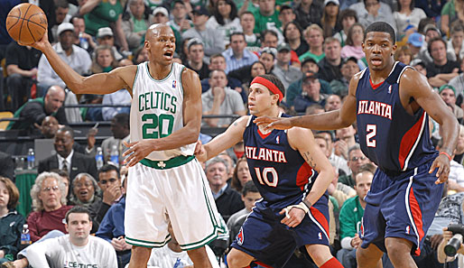 Boston Celtics, Atlanta Hawks, Ray Allen, Mike Bibby