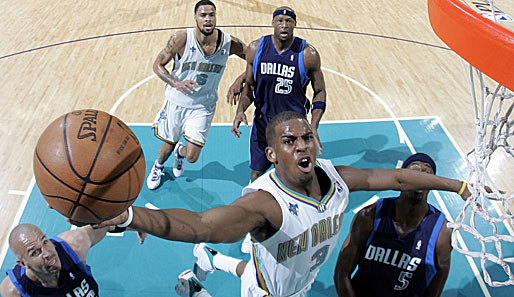 New Orleans Hornets, Dallas Mavericks, Chris Paul