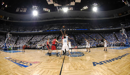 Spiel 1: Orlando Magic - Toronto Raptors 114:100 (Playoff-Stand 1-0)