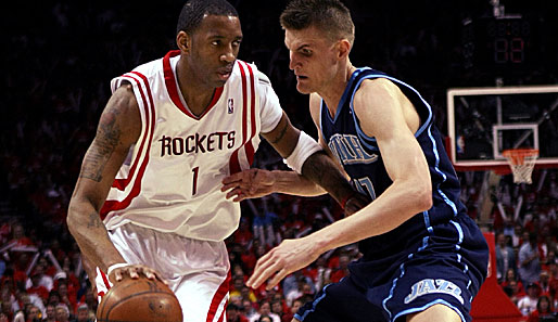 Houston Rockets, Utah Jazz, Tracy McGrady, Andrei Kirilenko