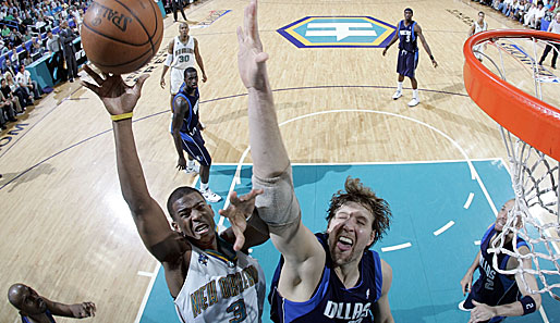Spiel 2: New Orleans Hornets - Dallas Mavericks 127:103 (Playoff-Stand: 2-0)