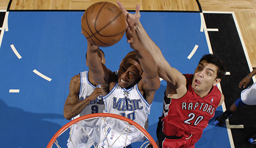 Spiel 5: Orlando Magic - Toronto Raptors 102:92 (Playoff-Stand: 4-1)