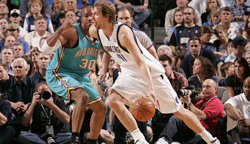 Spiel 3: Dallas Mavericks - New Orleans Hornets 97:87 (Playoff-Stand: 1-2)