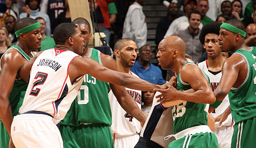 Atlanta Hawks, Boston Celtics, Joe Johnson, Sam Cassell