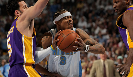 Spiel 4: Denver Nuggets - Los Angeles Lakers 101:107 (Playoff-Stand: 0-4)
